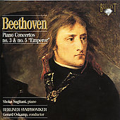 Beethoven: Piano Concerto no 3 & 5 / Sugitani, Oskamp, Berlin SO