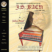 Bach: Complete Clavier Suites / John Paul