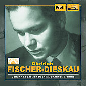 Dietrich Fischer-Dieskau Sings Bach & Brahms
