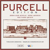 Purcell Edition, Vol. 1: Dido and Aeneas; King Arthur; The Fairy Queen