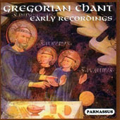 Gregorian Chant - Early Recordings