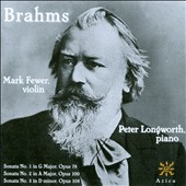 Brahms: Sonatas for Violin & Piano / Fewer