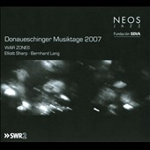 Elliott Sharp/Bernhard Lang (Conductor/Director): Donaueschinger Musiktage 2007: War Zones [Digipak]