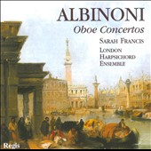Albinoni: Oboe Concertos / Sarah Francis