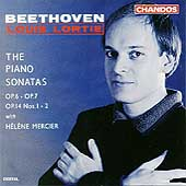 Beethoven: The Piano Sonatas Opp 6, 7 & 14 / Louis Lortie