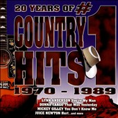 Various Artists: 20 Years of #1 Country Hits 1970-1989