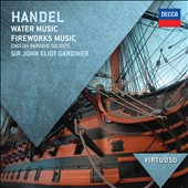 Handel: Water Music; Fireworks Music / Gardiner - English Baroque Soloists
