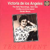 Victoria de los Angeles - The Early Recordings, 1942-1953