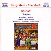 Dufay: Chansons / Posch, Landauer, Ensemble Unicorn
