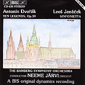 Jan&#225;cek: Sinfonietta;  Dvor&#225;k: Legends / J&#228;rvi, Bamberg