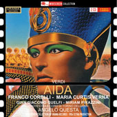 Verdi: Aida / Corelli, Curtis Verna, Guelfi, Pirazzini (studio rec. 1956)