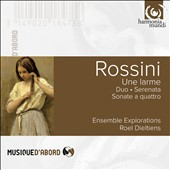 Rossini: Une larme, Serenata, Sonatas a quattro Nos. 3 & 6; Duetto for cello and double-bass