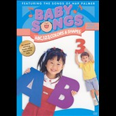 Hap Palmer: Baby Songs: ABC,123, Colors & Shapes