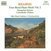 Brahms: Four-Hand Piano Music Vol 2 / Matthies, Köhn