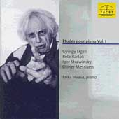 Etudes for Piano Vol. 1 / Stravinsky, Bartok, Messiaen, Ligeti, Haase / Erida Haase, piano