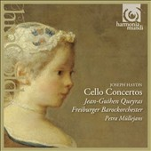 Haydn: Concertos for Cello nos. 1 & 2 ; Georg Matthias Monn (1717-1750): Concerto for Cello in G minor / Jean-Guihen Queyras (cello), Freiburger Barockorchester, Petra Mullejans