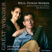 Great Wonder' - John Dowland & His Contemporaries / Amanda Sidebottom, soprano; Erik Ryding, lute