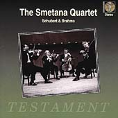 Schubert, Brahms / Smetana Quartet