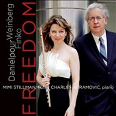 Freedom:  Music for flute & piano by Mieczyslaw Weinberg, David Finko, Richard Danielpour / Mimi Stillman, flute; Charles Abramovic, piano