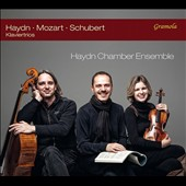 Haydn: Piano Trio in G, Hob.XV:25; Mozart: Piano Trio K 542; Schubert: Piano Trio No. 2, D 929