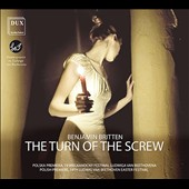 Benjamin Britten: The Turn of the Screw / Eric Barry, Emily Workman, Kathleen Reveille, Diana Monotague, Rosie Lomas. Concert performance from the Beethoven Easter Festival