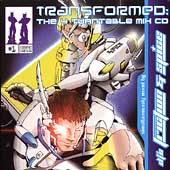 DJ Friction: Transformed: The 4 Turntable Mix CD