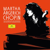 Martha Argerich Chopin: Complete Recordings on Deutsche Grammophon