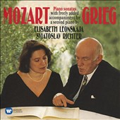 Mozart: Piano Sonatas with added acommpaniment for second piano by Edvard Grieg / Elisabeth Leonskaja, piano; Sviatoslav Richter, piano
