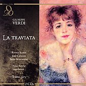 Verdi: La traviata / Verchi, Scotto, Carreras, et al