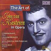 The Art of John Van Kesteren in Opera - Mayr, Halévy, et al