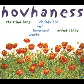 Hovhaness: Violin/Viola and Keyboard Works / Fong, Ashby
