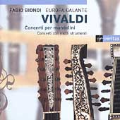 Vivaldi: Concerti per mandolini, etc /Biondi, Europa Galante