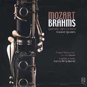 Mozart, Brahms: Clarinet Quintets / Weingartner, Arianna