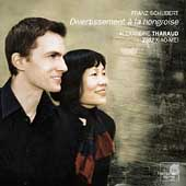 Schubert: Divertissement à la hongroise, etc / Tharaud, Zhu