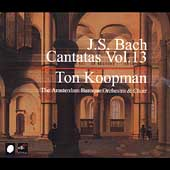 Bach: Cantatas Vol 13 / Koopman, Amsterdam Baroque