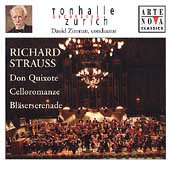 R. Strauss: Don Quixote, Celloromanze, etc / Zinman, et al