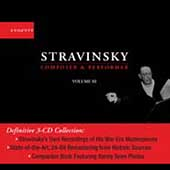 Stravinsky - Composer & Performer Vol 3