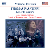 American Classics - Pasatieri: Letter to Warsaw