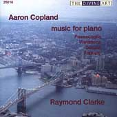 Copland: Music for Piano / Clarke