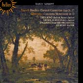 Tausch: Double Clarinet Concertos;  S&uuml;ssmayr / Thea King