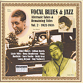 Various Artists: Vocal Blues & Jazz, Vol. 2: 1921-1928