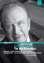 Arrau & Brahms: The Two Romantics [DVD]
