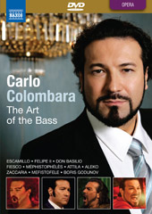 Carlo Colombara: The Art of The Bass [DVD]