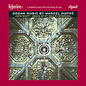 Dupr&eacute;: Organ Music / John Scott