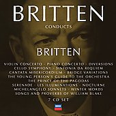 Britten Conducts Britten Vol 4