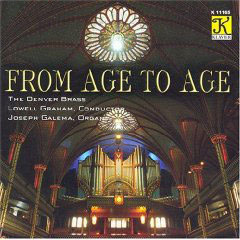 From Age to Age - Bliss, Elgar, etc / The Denver Brass