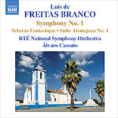 Branco: Symphony no 1, Scherzo fantastique, etc / Cassuto, National Symphony Orchestra of Ireland
