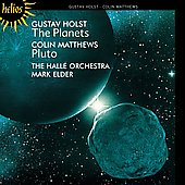 Holst: The Planets;  Matthews: Pluto / Elder, Hallé, et al