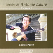 M&uacute;sica de Antonio Lauro Vol 1 - Guitar Sonata, Valses venezolanos, etc