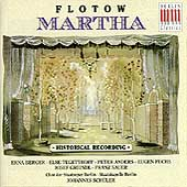 Flotow: Martha / Sch&#252;ler, Berger, Tergetthoff, Anders, et al